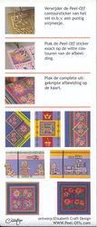 Elizabeth Craft contourknipvel en stickerpakket 'Peel-Offs' (Locatie: M14)