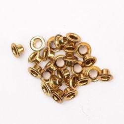 Eyelets metallic brass 25 stuks nr. 20405 (Locatie: 1B)