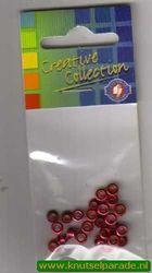Eyelets metallic rood 25 stuks nr. 20413/06 (Locatie: 5RC1 )