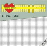 Hartho-bby foampads mini 1.0 mm dik 64018 (Locatie: K2)