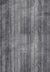 Hobby Idee achtergrondpapier Houtmotief grijs HI-3101 (Locatie: 718)