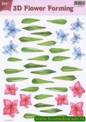 Joy Crafts 3D Flower forming transparant 6018 0009 (Locatie: 1557)