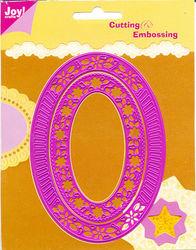 Joy!Crafts cutting & embossing mal ovaal 2 stuks 6002/0029 (Locatie: B298)