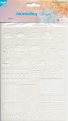 Joy! journaling stencil 5 6002/0861 (Locatie: 1127)