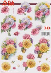 Le Suh 3D Knipvel Bloemen 8215792 (Locatie: 2857)