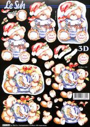 Le Suh 3D Knipvel Kerstmis 8215806 (Locatie: 941)