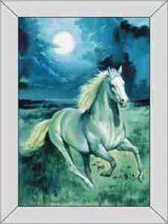 Le Suh 3D schilderij met lijst Paard 4135009 (Locatie: 0203)