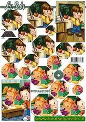 Le Suh knipvel pyramides kinderen 630147 (Locatie: 6709)
