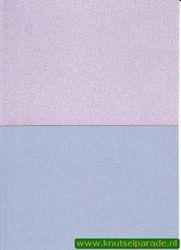 Le Suh parelmoerpapier A5 lichtroze en lichtblauw 412503 (Locatie: S3)