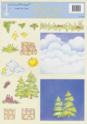 LeCreaDesign knipvel kerstmis 937 (Locatie: 1241 )