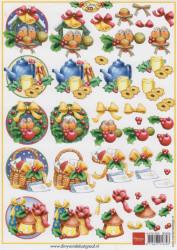 Marianne Design knipvel A5 kerstmis 3D555 (Locatie: 1109)