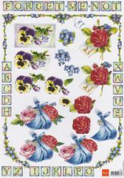 Marianne Design knipvel bloemen IT 537 (Locatie: 2373)