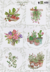 Marianne Design knipvel Herbs & Leaves EWK1255 (Locatie: 6736)