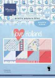 Marianne Design Pretty papers bloc I love Holland A4 PK9168