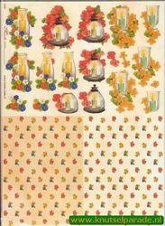 Mireille knipvel bloemen nr. E565 (Locatie: 915)