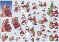 Mireille knipvel kerstmis X177 (Locatie: 6325)