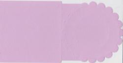 Romak, bloem, vierkante kaart, lila K1 290 69 (Locatie: HH070 )