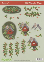 Romak knipvel kerst P060014 (Locatie: 2876)