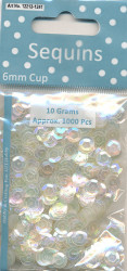 Sequins Regular transparant Cup 12212 1241