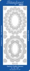 Starform sticker ornamenten goud 1287 (Locatie: I467)