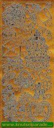 Starform sticker trouwen goud 802 (Locatie: J237 )