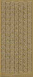 Starform stickervel kerstklokken goud 8536 (Locatie: BB132 )