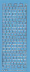 Stickervel blauw/zilver nr. 3020 (Locatie: K149)