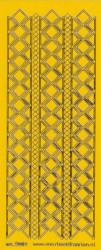 Stickervel donkergeel/goud nr. 3019 (Locatie: K140 )