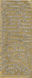 Stickervel duitse teksten 3662 (Locatie: U276)