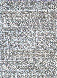 Stickervel holografisch zilver kerstmis (Locatie: 4810 )