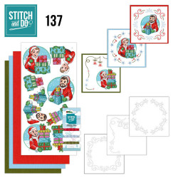 Stitch and Do 137 Big Guys Christmas STDO137
