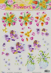 Studio Light knipvel bloemen nr. STAPFL 01 (Locatie: 5007)