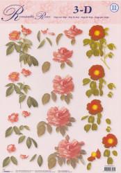 Studio Light knipvel bloemen STAPROSES11 (Locatie: 0210)