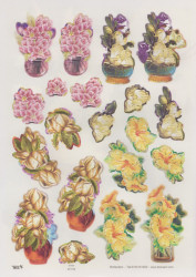 TBZ stansvel bloemen 571778 (Locatie: 1338)
