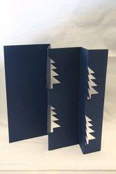 Van Dool wekabo 3 kaart/envelop blauw kerstboo op IS op (Locatie: GG052 )