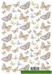 Vellum vlinders nr. 8804T (Locatie: 2714)