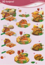 Voorbeeldkaarten knipvel eten 2493 (Locatie: 5514)