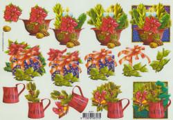 Voorbeeldkaarten knipvel kerstmis 8727 (Locatie: 2766)
