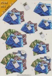 Voorbeeldkaarten stansvel A5 mannenkleding Po-5012 (Locatie: 0938)