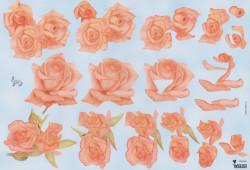 Wekon knipvel bloemen W80052 (Locatie: 2232)