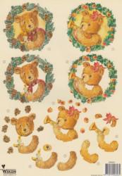 Wekon knipvel kerstmis BM0001 (Locatie: 2875)
