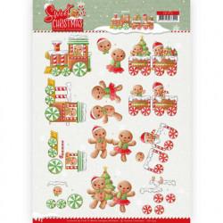 Yvonne Creations knipvel Sweet Christmas CD11373 (Locatie: 2577)