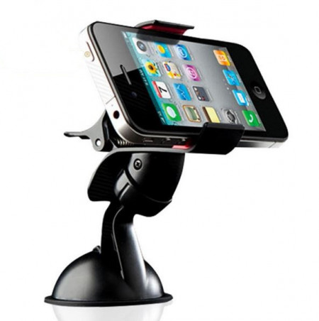 Универсална стойка за смартфон, навигация, gps за стъкло. изображения
