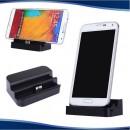 Докинг станция Samsung S5 / Note 3, безжично зареждане + стойка за телефон + Подарък.