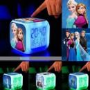 Frozen LED Alarm часовници с термометър с 7 цвята.