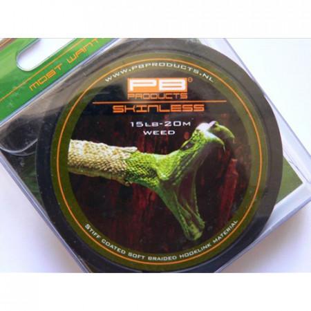 Fir Forfac cu camasa rigida PB Products Skinless Weed 15 Lb/20 m
