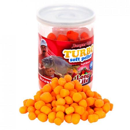 Benzar Mix Turbo Soft Pellet Long Life căpșuni 60g
