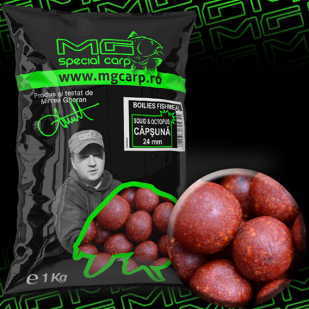 Boilies MG special carp Squid&Octopus Capsuna 24mm