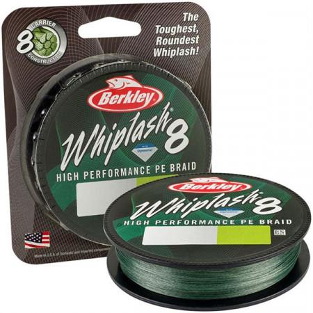 Fir Berkley Whiplash 8 Green 0,25mm/39,70Kg/150m