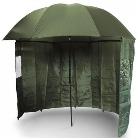Umbrela cu parasolar NGT 2,2m